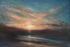 Sinking Cornish Sun